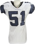 Football Collectibles:Uniforms, 2006 Lofa Tatupu Game Worn Jersey. With Pro Bowl appearances in each of his two NFL seasons, this dominating Seattle Seahaw...