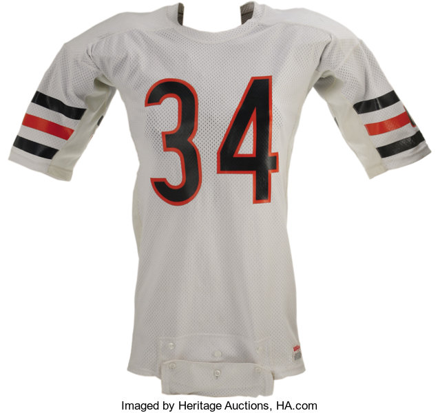big sale 2aa56 4cdcf Mid-1980's Walter Payton Game Worn Jersey. When it comes to ...