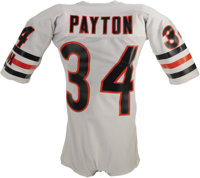 Mid-1980 s Walter Payton Game Worn Jersey. When it comes to  98736ea94