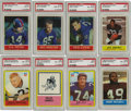 Football Cards:Sets, 1964-1967 Philadelphia Football Complete Sets Run. During the mid-1960's, if you wanted football cards depicting NFL players...