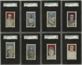 Baseball Cards:Lots, 1910 E99 Bishop & Company SGC Graded Partial Set (17/30). Thisset was issued by the Los Angeles candy maker Bishop and Com...