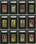 Baseball Cards:Lots, 1909 E95 Philadelphia Caramel Complete SGC-Graded Set (25).Produced by the Philadelphia Caramel company of Camden, New Jers...