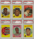 Baseball Cards:Sets, 1959 Topps Baseball Complete Set (572). The 572-card effort markedthe largest set issued to that time. The cards featured ...
