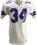 Football Collectibles:Uniforms, Late 1980's Herschel Walker Game Worn Jersey. If one were to compile this 1982 Heisman Trophy winner's complete statistics ...