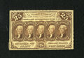 Fractional Currency:First Issue, Fr. 1280 25c First Issue Extremely Fine. This scarcer no monogram note faces up like a Choice New note until closer inspecti...