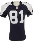 Football Collectibles:Uniforms, 2006 Terrell Owens Game Worn Throwback Jersey & Pants. The controversial superstar snagged a touchdown pass in each of the ...