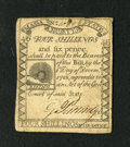 Colonial Notes:Massachusetts, Massachusetts 1779 4s/6d Extremely Fine. This is a very nice example of this popular Rising Sun issue that has good margins ...