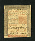 Colonial Notes:Pennsylvania, Pennsylvania April 10, 1775 50s Choice New. This is a very wellmargined and wonderfully embossed example of the Workhouse n...