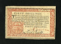 Colonial Notes:Pennsylvania, Pennsylvania April 10, 1777 40s Choice About New. This is a muchscarcer high denomination Red and Black note that faces up ...