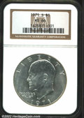 "Eisenhower Dollars: , 1971-S $1 Silver MS66 NGC. The latest Coin World ""Trends"" ..."
