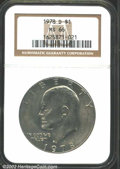 "Eisenhower Dollars: , 1978-D $1 MS66 NGC. The latest Coin World ""Trends"" price is $..."
