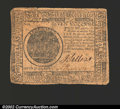 Colonial Notes:Continental Congress Issues, May 9, 1776, $7, Continental Congress Issue, CC-37, VF+. ...