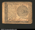 Colonial Notes:Continental Congress Issues, September 26, 1778, $60, Continental Congress Issue, CC-86, VF....
