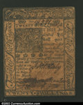 Colonial Notes:Delaware, January 1, 1776, 20s, Delaware, DE-80, VF. ...