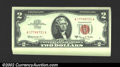 Small Size:Legal Tender Notes, A nice run of 50 consecutive 1963A $2 Legal Tender Notes, Fr-...