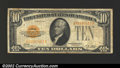 Small Size:Gold Certificates, 1928 $10 Gold Certificate, Fr-2400, Fine-VF. ...