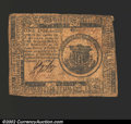 Colonial Notes:Continental Congress Issues, February 17, 1776, $1, Continental Congress Issue, CC-23, Fine....