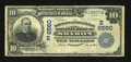 National Bank Notes:Pennsylvania, Sharon, PA - $10 1902 Date Back Fr. 616 The Merchants &Manufacturers NB Ch. # (E)6560. ...