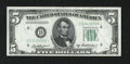 Small Size:Federal Reserve Notes, Fr. 1963-D* $5 1950B Federal Reserve Star Note. Choice Crisp Uncirculated.. ...