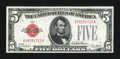 Fr. 1525 $5 1928 Legal Tender Note. Choice Crisp Uncirculated