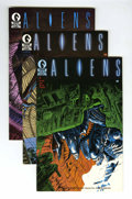 Modern Age (1980-Present):Science Fiction, Aliens and Alien Worlds Group (Dark Horse/Pacific Comics, 1989-90)Condition: Average NM-.... (Total: 28 Comic Books)