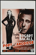 """Movie Posters:Romance, To Have and Have Not (Warner Brothers, R-1950s). Belgian (14"""" X 22""""). Romance...."""