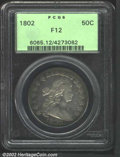 Early Half Dollars: , 1802 50C Fine 12 PCGS. O-101, the only known dies, R.3. ...