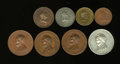 U.S. Presidents & Statesmen, Octet of Lincoln Medals and Tokens.... (Total: 8 medals)