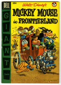 Golden Age (1938-1955):Funny Animal, Dell Giant Comics Mickey Mouse in Frontier Land (Dell, 1956)Condition: VF-....