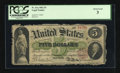 Fr. 61a $5 1862 Legal Tender PCGS About Good 03