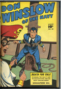 Golden Age (1938-1955):War, Don Winslow of the Navy #59-64 Bound Volume (Fawcett, 1948)....