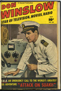 Golden Age (1938-1955):War, Don Winslow of the Navy #68-69 Bound Volume (Fawcett, 1951)....