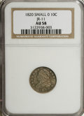 Bust Dimes, 1820 10C Small 0 AU58 NGC. JR-11. PCGS Population (2/5). NumismediaWsl. Price for NGC/PCGS coin in AU...