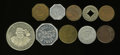 20th Century Tokens and Medals, 10-Piece Lot of California Merchant Tokens.... (Total: 10 tokens)