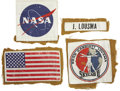 Explorers:Space Exploration, Skylab II (SL-3) Full Set of Four Flown Patches,... (Total: 4Items)