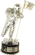"Music Memorabilia:Awards, Madonna ""Express Yourself"" MTV VMA Award to David Fincher. Beforeearning acclaim as director of such feature films as Se7...(Total: 1 Item)"
