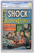 Golden Age (1938-1955):Horror, Shock SuspenStories #1 (EC, 1952) CGC FN 6.0 Light tan to off-whitepages....