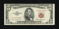 Small Size:Legal Tender Notes, Fr. 1534* $5 1953B Legal Tender Star Note. About Uncirculated.. ...
