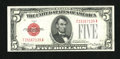 Fr. 1528 $5 1928C Legal Tender Note. Very Choice Crisp Uncirculated