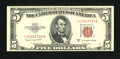 Small Size:Legal Tender Notes, Fr. 1534* $5 1953B Legal Tender Star Note. Extremely Fine.. ...