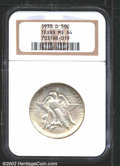 Commemorative Silver: , 1938-D 50C Texas MS64 NGC. A well struck near-Gem that ...