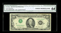 Error Notes:Inverted Third Printings, Fr. 2168-J $100 1977 Federal Reserve Note. CGA Choice Uncirculated64.. This is a pleasing error which really catches your e...
