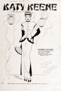 Original Comic Art:Splash Pages, Bill Woggon - Katy Keene #2, page 8 Pin-Up Original Art (Archie,1950). ...