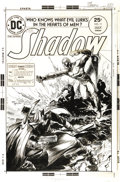 Original Comic Art:Covers, Michael W. Kaluta - Shadow #11 Cover Original Art (DC, 1975). ...