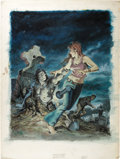 Original Comic Art:Covers, Earl Norem - Tales of the Zombie #5 Cover Painting Original Art(Marvel, 1974)....