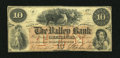 Obsoletes By State:New Hampshire, Hillsborough, NH- The Valley Bank $10 Jan. 1, 1864. ...