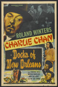 """Movie Posters:Mystery, Docks of New Orleans (Monogram, 1948). One Sheet (27"""" X 41"""").Charlie Chan Mystery. Starring Roland Winters, Virginia Dale a..."""
