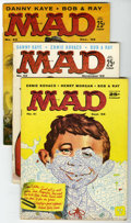 Magazines:Mad, Mad #41-50 Group (EC, 1958-59) Condition: Average VG.... (Total: 11 Comic Books)