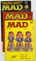 Magazines:Mad, Mad #36-40 Group (EC, 1957-58) Condition: Average VG.... (Total: 6 Comic Books)