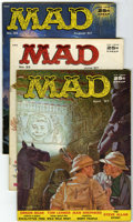 Magazines:Mad, Mad #32-35 Group (EC, 1957) Condition: Average VG+.... (Total: 4Comic Books)
